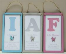Personalised Baby Boy Girl Newborn Christening Baptism Plaque Day Gift Present
