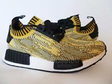 Adidas NMD Runner PrimeKnit Nomad Boost Trainers Mens Nomad Yellow Black S42131