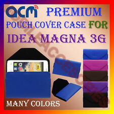 ACM-PREMIUM POUCH LEATHER CARRY CASE for IDEA MAGNA 3G MOBILE COVER HOLDER NEW