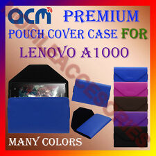 ACM-PREMIUM POUCH LEATHER CARRY CASE for LENOVO A1000 MOBILE COVER HOLDER LATEST