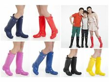 Kids Boys Girls Wellington Boots Rain Snow Boots Wellies Sizes UK 3 - 7