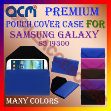 ACM-PREMIUM POUCH LEATHER CARRY CASE for SAMSUNG GALAXY S3 I9300 MOBILE COVER