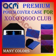 ACM-PREMIUM POUCH LEATHER CARRY CASE for XOLO Q600 CLUB MOBILE COVER HOLDER NEW
