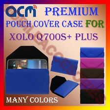 ACM-PREMIUM POUCH LEATHER CARRY CASE for XOLO Q700S+ PLUS MOBILE COVER HOLDER