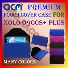 ACM-PREMIUM POUCH LEATHER CARRY CASE for XOLO Q900S+ PLUS MOBILE COVER HOLDER