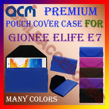 ACM-PREMIUM POUCH LEATHER CARRY CASE for GIONEE ELIFE E7 MOBILE COVER HOLDER NEW