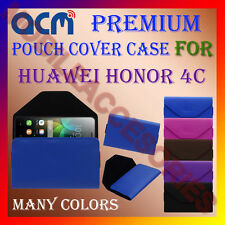 ACM-PREMIUM POUCH LEATHER CARRY CASE for HUAWEI HONOR 4C MOBILE COVER HOLDER NEW