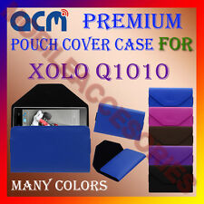 ACM-PREMIUM POUCH LEATHER CARRY CASE for XOLO Q1010 MOBILE COVER HOLDER PROTECT
