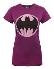 Junk Food Batman Bat Signal Women's T-Shirt