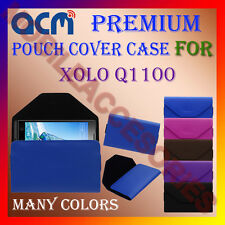 ACM-PREMIUM POUCH LEATHER CARRY CASE for XOLO Q1100 MOBILE COVER HOLDER PROTECT