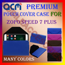 ACM-PREMIUM POUCH LEATHER CARRY CASE for ZOPO SPEED 7 PLUS MOBILE COVER HOLDER