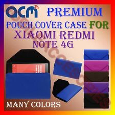 ACM-PREMIUM POUCH LEATHER CARRY CASE for XIAOMI MI NOTE 4G MOBILE COVER HOLDER