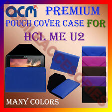 ACM-PREMIUM POUCH LEATHER CARRY CASE for HCL ME U2 TABLET TAB COVER HOLDER NEW