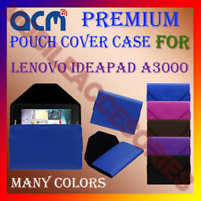 ACM-PREMIUM POUCH LEATHER CARRY CASE for LENOVO IDEAPAD A3000 TAB TABLET COVER
