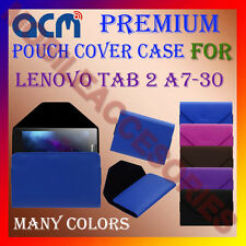 ACM-PREMIUM POUCH LEATHER CARRY CASE for LENOVO TAB 2 A7-30 TAB TABLET COVER NEW
