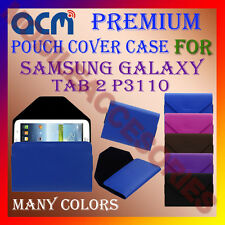 ACM-PREMIUM POUCH LEATHER CARRY CASE for SAMSUNG GALAXY TAB 2 P3110 TABLET COVER