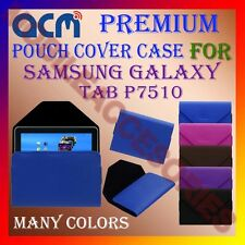 ACM-PREMIUM POUCH LEATHER CARRY CASE for SAMSUNG GALAXY TAB P7510 TABLET COVER