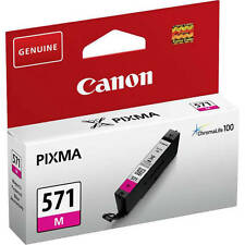 GENUINE ORIGINAL CANON PIXMA CLI-571M MAGENTA INK CARTRIDGE (0387C001)