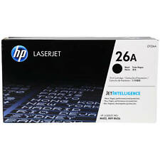 GENUINE HP CF226A / 26A BLACK LASER PRINTER TONER CARTRIDGE