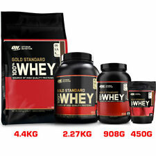 ON Whey Protein Isolate Optimum Nutrition 100% Gold Standard Glutamine Bcaa
