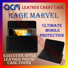 ACM-HORIZONTAL LEATHER CARRY CASE for RAGE MARVEL MOBILE COVER HOLDER PROTECTION