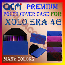 ACM-PREMIUM POUCH LEATHER CARRY CASE for XOLO ERA 4G MOBILE COVER HOLDER PROTECT