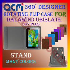 "ACM-DESIGNER ROTATING 360° 7"" COVER CASE STAND for DATAWIND UBISLATE 3G7 PLUS"