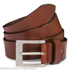MENS LEATHER BELTS MENS GENUINE 100% LEATHER HIGH QUALITY BELTS RRP £29.99