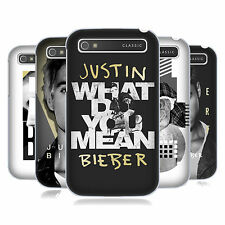 OFFICIAL JUSTIN BIEBER PURPOSE B&W HARD BACK CASE FOR BLACKBERRY PHONES