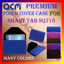 ACM-PREMIUM POUCH LEATHER CARRY CASE for SMART TAB SQ718 TABLET TAB COVER LATEST