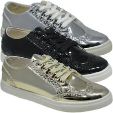 Fashion Ladies Comfort Casual Lace Up Pumps Womens Trainers Sneakers Shoe Size U
