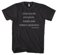 The Verve Richard Ashcroft Lyric Stand Accused Unisex T shirt  All Sizes Colours