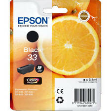 ORIGINAL EPSON (ORANGE) 33 SERIES BLACK INK CARTRIDGE (C13T33314010 / T3331)