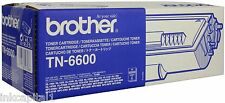 1 X BROTHER TN6600 ORIGINALE OEM Cartuccia Toner Laser - 6000 PAGES