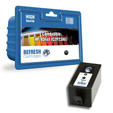 REFRESH CARTRIDGES BLACK 934XL INK COMPATIBLE WITH HP PRINTERS