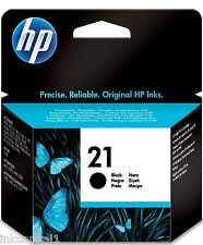 HP No 21 Negro Original Original Oem Cartucho de Tinta C9351AE Officejet