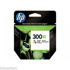 HP NO 300xl COLOR ORIGINAL OEM Cartucho de Tinta CC644EE Deskjet impresora