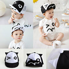 Lovely Cartoon Kids Fashion Baseball Cap Boys Girls Baby Peaked Mesh Hat