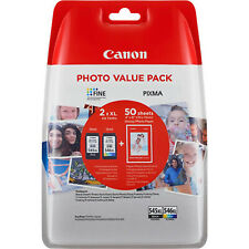 GENUINE CANON PG-545XL CL-546XL HIGH CAPACITY INK CARTRIDGE MULTIPACK (8286B006)