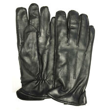 Mens Womens Winter Warm Soft Leather Driving Gloves Fleece Lined Car Chauffeur