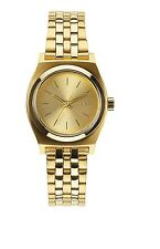 "Nixon Damen Armbanduhr ""Small Time Teller Analogs"" (A399) Farbe: All Gold"