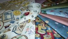 Haberdashery Makower Fabric Cotton Reels Sewing Machines Notions Quilting Sewing