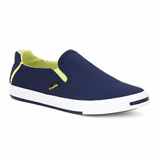 FROSKIE BRANDED  CASUAL VULCANISED CANVAS SHOES , SNEAKERS FOR MEN Blue & Black