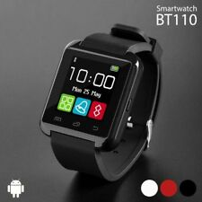 RELOJ INTELIGENTE SMARTWATCH BT110 CON AUDIO BLUETOOTH COMPATIBLE ANDROID