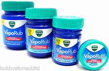 Vicks VapoRub Vapour Rub Congestion Relief Chest Rub Menthol Eucalyptus Value