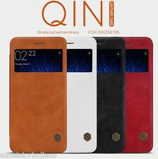 Nillkin QIN Series Leather Window View Flip Cover Case for Xiaomi Mi5