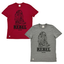 Chunk Mens Official Licensed Star Wars Rebel R2-D2 Droid T Shirt New Tee Top