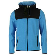 Under Armour ColdGear Infrared Performance Full Zip Hoody Mens Blue Top Sweater
