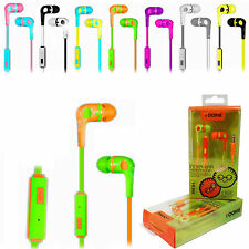 Genuine Stylish Double Color Earphone Headset With mic for Redmi,Mi,Xolo,Sony.