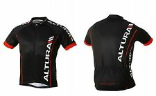 ALTURA TEAM Short Sleeve CYCLE CYCLING SHIRT JERSEY Black Small Medium XL